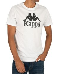 Kappa Authentic Graphic T-shirt - White