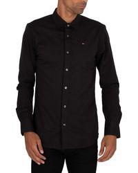 Tommy Hilfiger Original Stretch Slim Shirt - Black