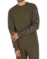Tommy Hilfiger Lounge Track Sweatshirt - Green