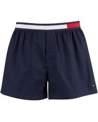 Tommy Hilfiger Colour Block Woven Trunks - Blue