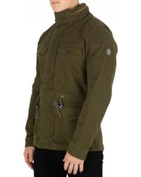 Scotch & Soda - Men's Field Jacket, Green Men's Jacket In Green - Lyst
