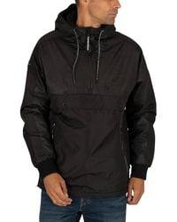 Superdry Surplus Pop Over Hooded Jacket - Black