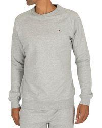 Tommy Hilfiger Loungewear Logo Sweatshirt - Grey