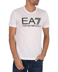 EA7 Graphic T-shirt - White