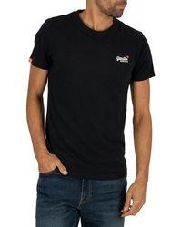 Superdry Orange Label Vintage Emb T-shirt - Blue