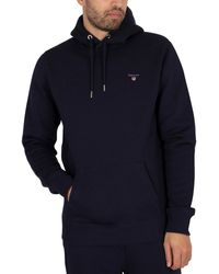 GANT Original Pullover Hoodie - Blue