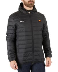 Ellesse - Anthracite Lombardy Padded Jacket - Lyst