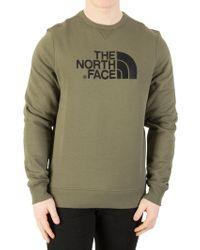 The North Face - New Taupe Green Drew Peak Sweatshirt - Lyst