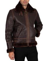 Schott Nyc 1259 Leather Jacket - Multicolor