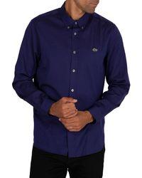 Lacoste Logo Shirt - Blue