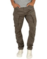 G-Star RAW Rovic Zip 3d Straight Tapered Pants - Grey