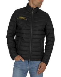 Barbour Chain International Baffle Puffa Jacket - Black