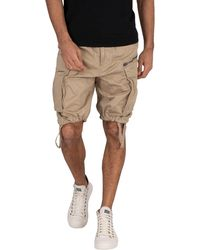 G-Star RAW Rovic Loose Cargo Shorts - Natural