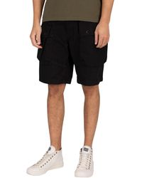 G-Star RAW Alpine Modular Cargo Shorts - Black