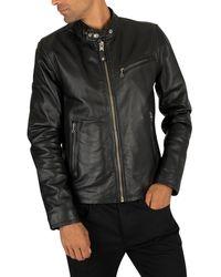 Schott Nyc Leather Jacket - Black