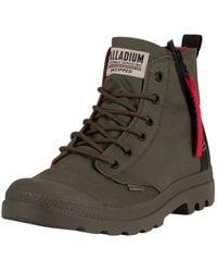 Palladium Pampa Unzipped Boots - Multicolour