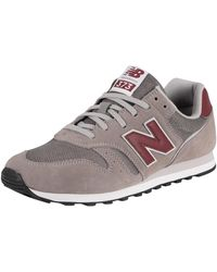 New Balance 373 Suede Sneakers - Grey