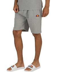 Ellesse Noli Fleece Sweat Shorts - Grey