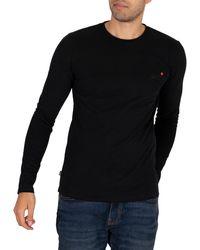 Superdry Longsleeved Vintage T-shirt - Black