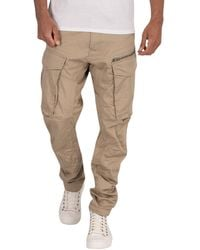 G-Star RAW Rovic Tapered Zip 3d Cargos - Natural