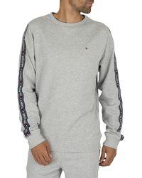 Tommy Hilfiger Track Sweatshirt - Gray