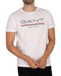 GANT 1949 T-shirt - White