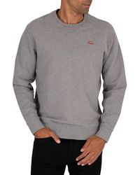 Levi's Original Crew Sweatshirt - Gray