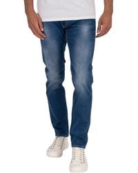 Replay Anbass Slim Jeans - Blue