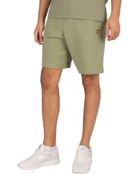 Lyle & Scott Sweat Shorts - Green