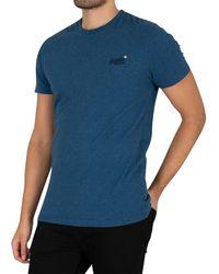 Superdry Original Logo Vintage Embroidered T-shirt - Blue