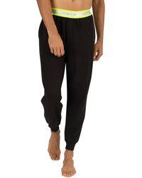 Calvin Klein Black Logo Pyjama Bottoms