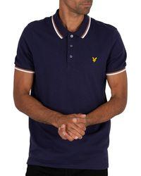 Lyle /& Scott LS Tipped Polo Shirt Uomo