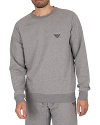Emporio Armani Lounge Sweatshirt - Grey