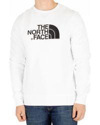 The North Face - White Drew Peak Sweatshirt - Lyst