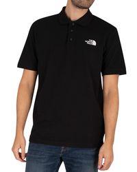 The North Face Calpine Polo Shirt - Black