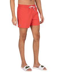 Lacoste Logo Swim Shorts - Multicolour