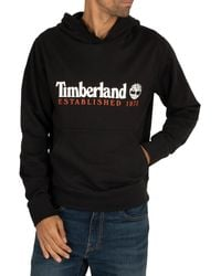 Timberland Established Pullover Hoody - Black