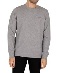 GANT Original Sweatshirt - Grey