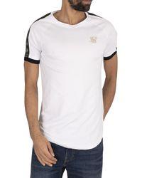 SIKSILK Raglan Tech T-shirt - White