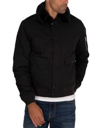 Schott Nyc Air Pilot Bomber Jacket - Black