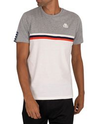 Kappa Ibis Slim T-shirt - Grey