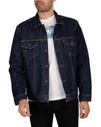 Levi's The Trucker Jacket - Blue