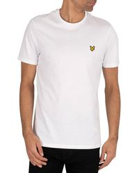 Lyle & Scott Logo T-shirt - White