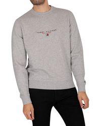 Tommy Hilfiger Essentials Sweatshirt - Grey