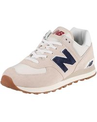 New Balance 574 Suede Sneakers - Multicolor