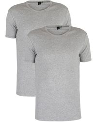 G-Star RAW 2 Pack Slim Crew T-shirts - Grey