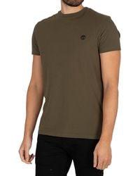 Timberland Dun River Crew Slim T-shirt - Green