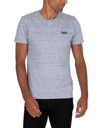 Superdry Vintage Emb T-shirt - Blue