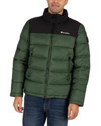 Champion Puffer Jacket - Green