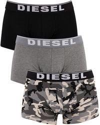 DIESEL 3 Pack Damien Trunks - Gray